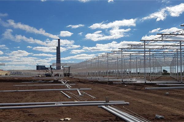 24 ha Greenhouse KZ Project in Kazakhstan